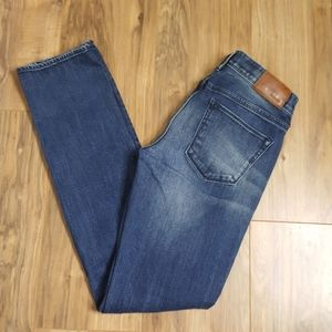 Madewell Blue Straight Jeans